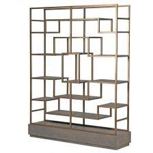 Astoria Multi-Shelf Gold Unit