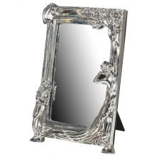Silver Lady Mirror