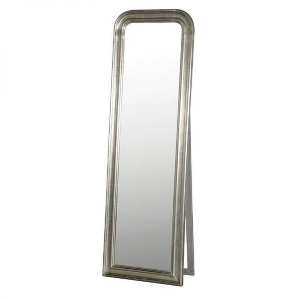 Silver Framed Dressing Mirror