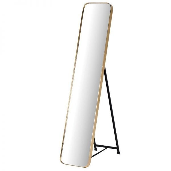 The Gold Standing Mirror