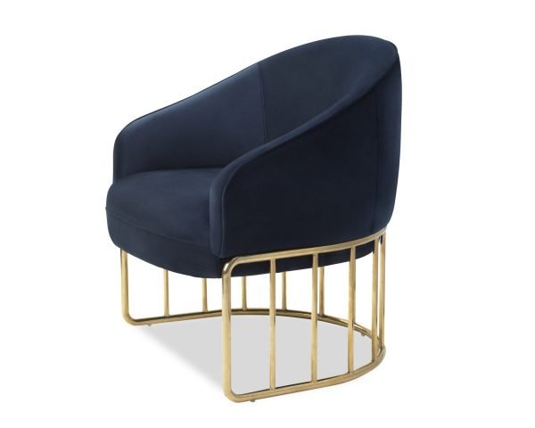 Boston Occasional Chair Navy