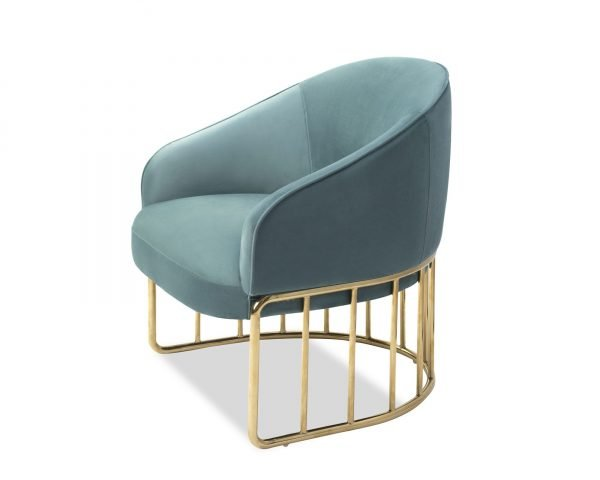Boston Occasional Chair Turquoise