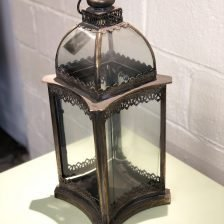 Antiqued Lantern