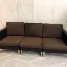 SOLEIL THREE SEAT GARDEN SOFA