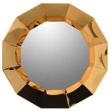 gold stainsteel 3D mirror