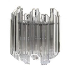 FLUTED TUBULAR WALL LIGHT