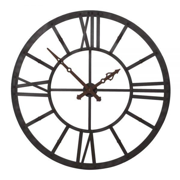 Large Lit Wall Clock