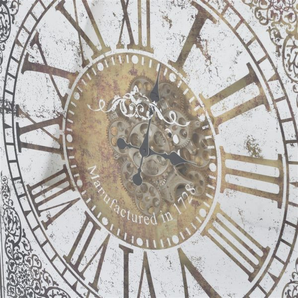 Large Ornate Clock with Gears 1
