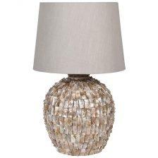Large Pearl Ceramic Lamp