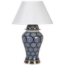 Patterned Temple Jar Lamp