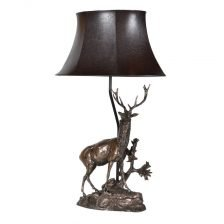 Standing Deer Lamp