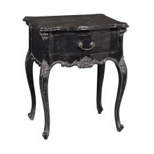 black sidetable