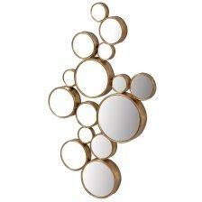 fifteen gold mirror