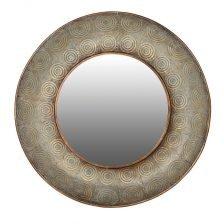 mesh round mirror