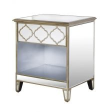 MOORISH MIRRORED BEDSIDE