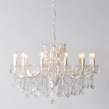 antique style chandelier with droppers