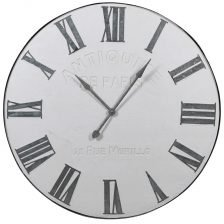 Large White Wall Clock