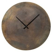 Mars Brass Wall Clock