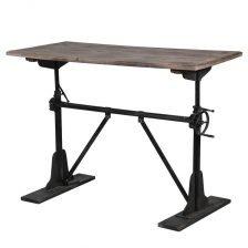 adjustable industrial iron table