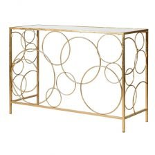 GOLD CIRCLES CONSOLE