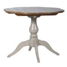 PIE CRUST DINING TABLE
