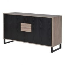 CONTEMPORARY FIFTIES TWO DOOR SIDEBOARD