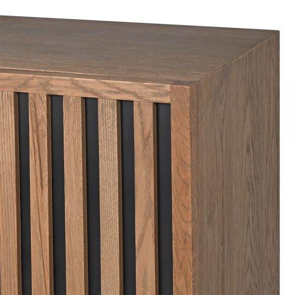 old oak ribbed sideboard.jpgb