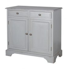 RIVIERA 2 DOOR GREY SIDEBOARD