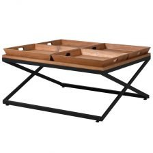4 Tray Coffee Table