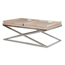 Double Tray Coffee Table