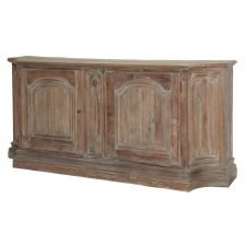FRENCH STYLE AGED PINE SIDEBOARD