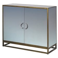 SHADED MIRROR CABINET