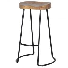 wooden set stool