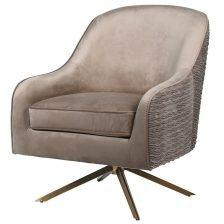 Golden Swivel Chair