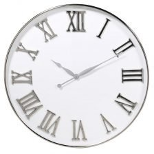 White Face Round Clock
