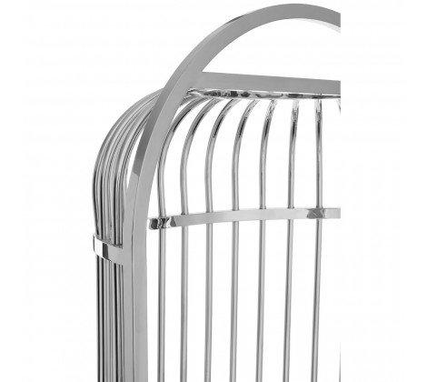 eliza silver cage chair a