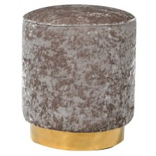 MAUVE TUB STOOL