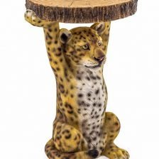 LARRY LEOPARD SIDETABLE