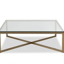 Musso Coffee Table Brushed Brass Liang