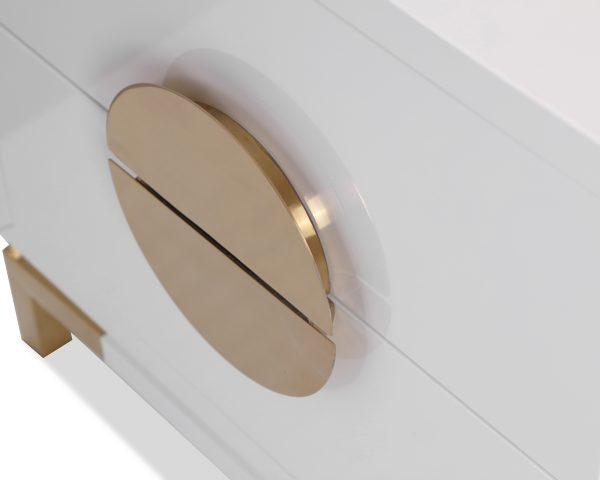 otium bedside LE-Otium-Bedside-Table-White-High-Gloss-Champagne-Gold-1