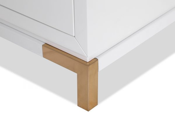 otium bedside LE-Otium-Bedside-Table-White-High-Gloss-Champagne-Gold-5