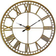 Large Gold Skeleton Clock