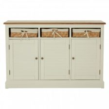 CANE BASKET COUNTRYSTYLE SIDEBOARD
