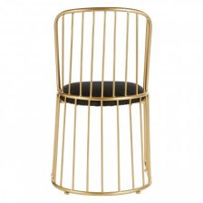 GOLDWIRE TUB DINING CHAIR