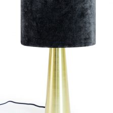 Brass Column Table Lamp