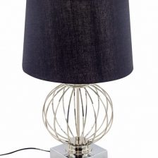 Caged Sphere Table Lamp