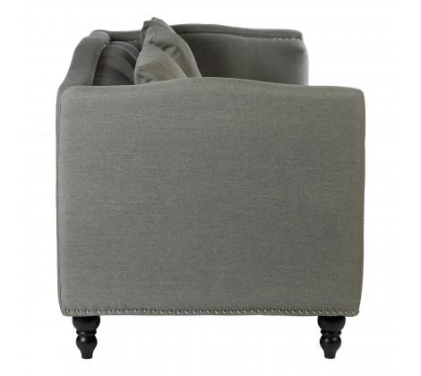 Modern Fabric Sofa 3 seat grey 2