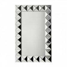 Rectangular Diamond Frame Mirror
