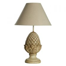 FRENCH STYLE ACORN BASE TABLE LAMP