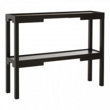 BLACK CONTEMPORARY HALL TABLE